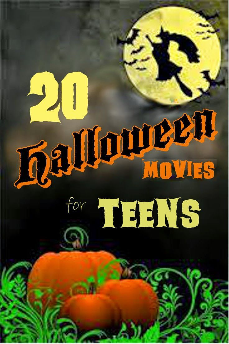 20 Halloween Movies for Teens (PG13) not a lot of gore