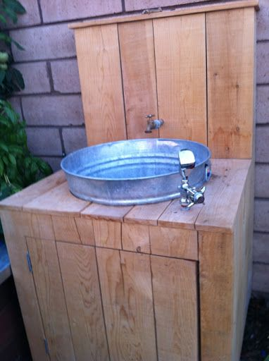 Me Amp My Boys Garden Sink Projects To Try Pinterest