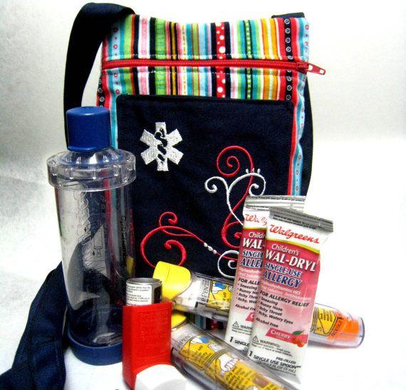 Oversized Inhaler Case / Medicine Pack / Epi-Pen Case / PurseOversized ...