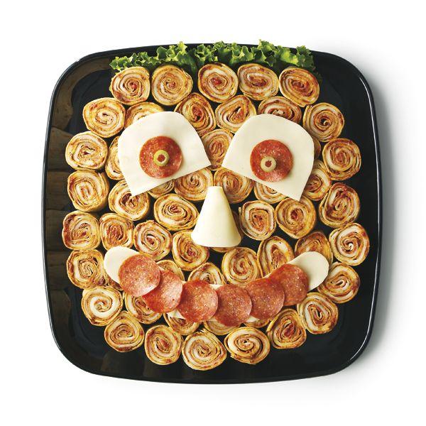Pizza Roll Ups Flatbread Spread With Sun Dried Tomato