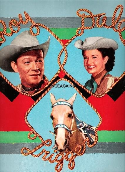 Roy Rogers And Dale Evans 2 Paper Dolls Pinterest