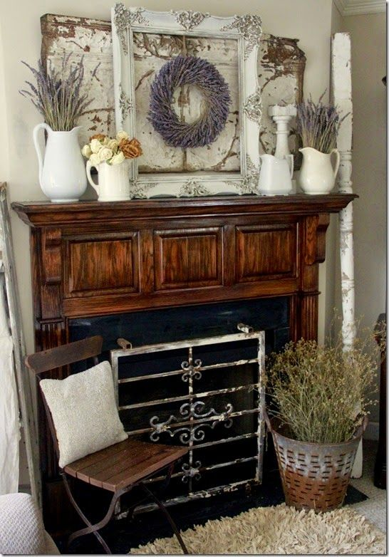 1000 Images About Mantel Decorating On Pinterest