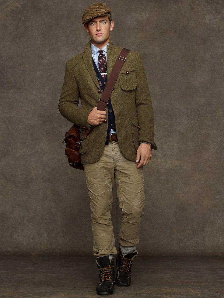 Messenger Tweed Sport Coat Sport Coats Men Ralphlauren