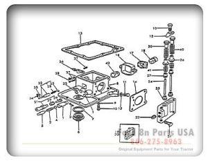 Ford 8N 10A01 Hydraulic Pump | Ford Tractor | Pinterest