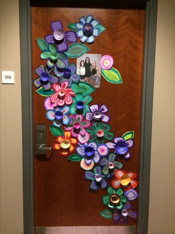 This Door Decoration Is Awesome You Can Get Creative And Make A Colorful Collage For
