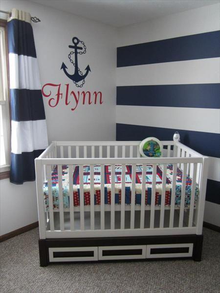 Nautical Theme Nursery For Grandma And Grandpa S Future Sailor Anyone Who Knows Me This