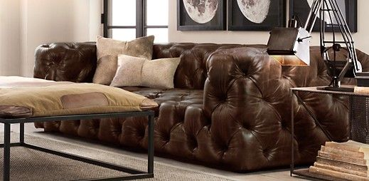 Restoration Hardware Soho Tufted Sofa Conceptstructuresllc Com