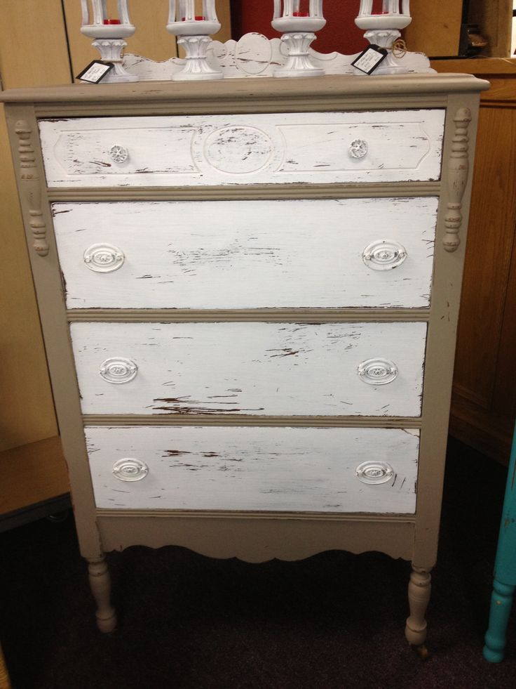 Beige Dresser Chalk Painted Furniture Pinterest Beige Dressers And Dressers