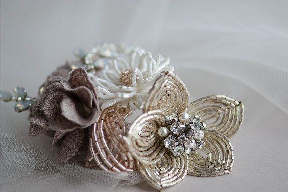 78 Best Ideas About Flower Headpiece Wedding On Pinterest