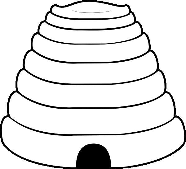 bee coloring pages 2 png 600 beehive worksheet bee hive coloring