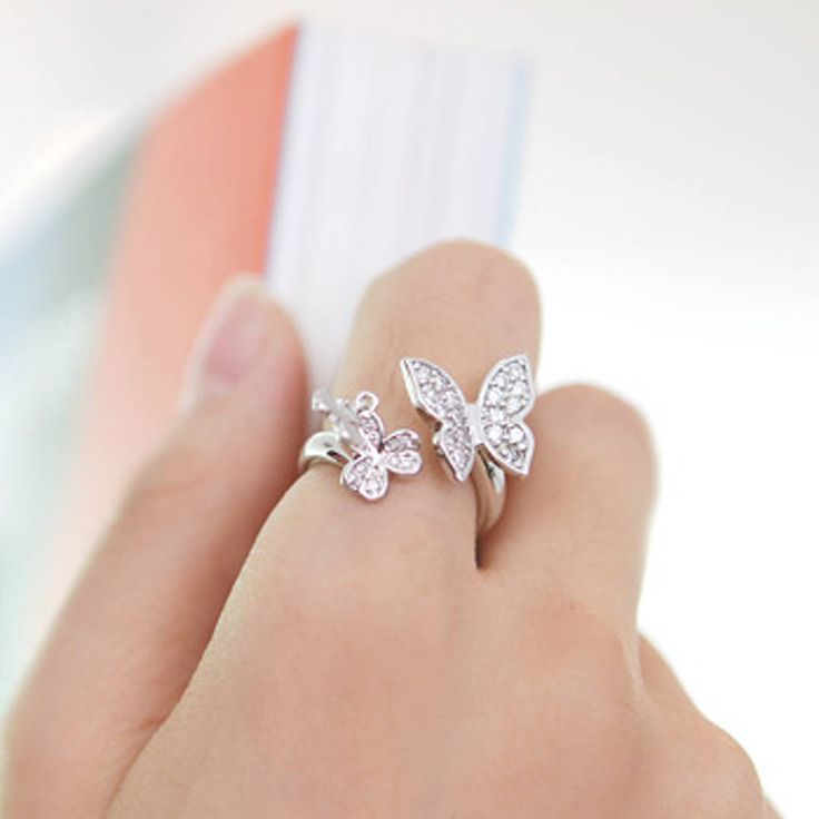 Butterfly Ring Butterflies And Butterfly Wedding On Pinterest