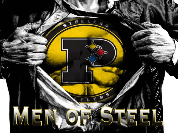Men Of Steel Steelers Fan Art Pinterest Pittsburgh