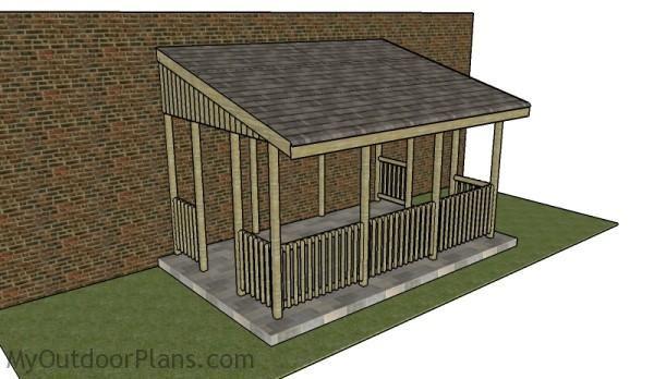 Lean To Gazebo Plans Myoutdoorplans Free Woodworking