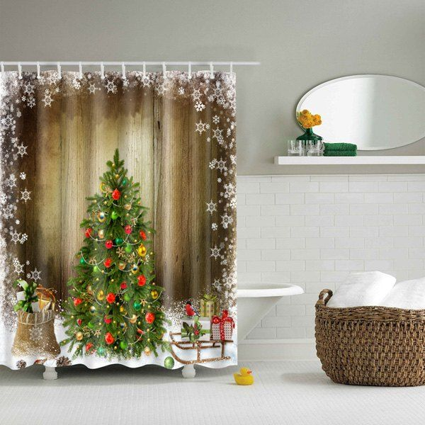 25 Best Ideas About Christmas Shower Curtains On Pinterest Christmas Bathroom Christmas