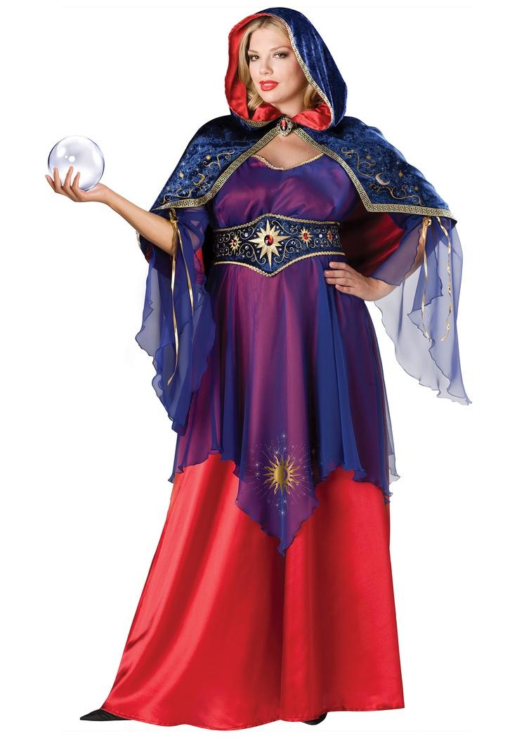 Plus Mystical Sorceress Costume Sorceress costume and