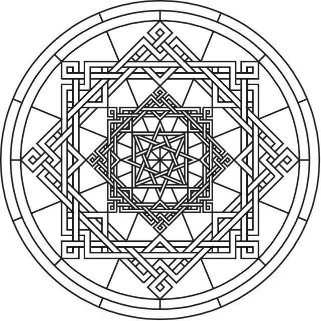 Mandala Flower Coloring Pages Difficult Google Search