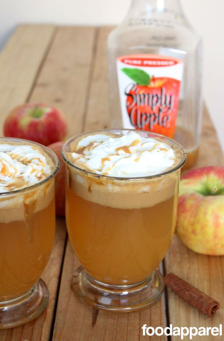 """Warm up with this """"Better than Starbucks"""" Caramel Apple Cider! (Can also be made with maple syrup instead of caramel)"""