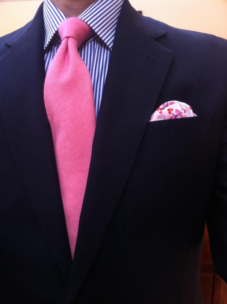 Mens Business Attire Pink Shirt Dress