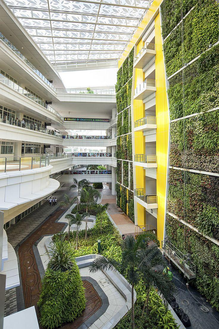 Institute of Technical Education, Singapore. Landscape