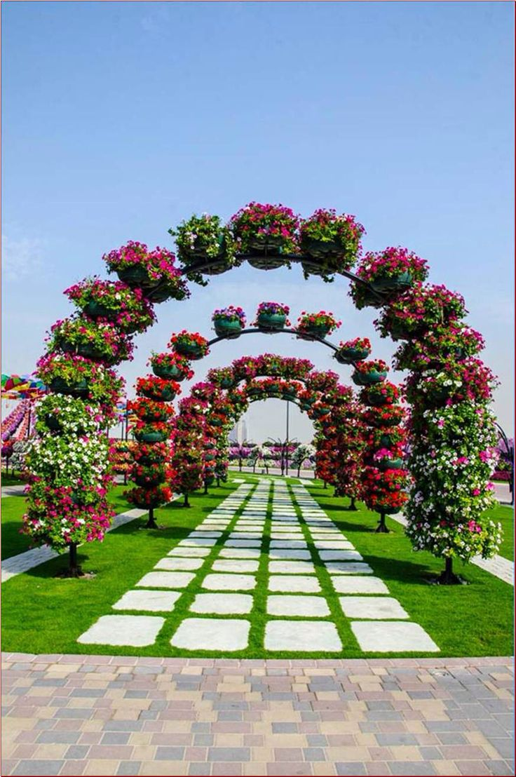 The most beautiful and biggest natural flower garden in