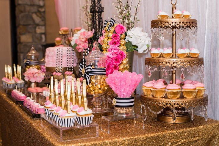 Beautiful Paris Themed Bridal Shower By Anaidas Creations