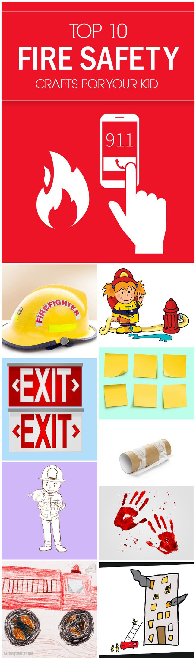 Top 10 Fire Safety Crafts For Preschoolers And Kids For