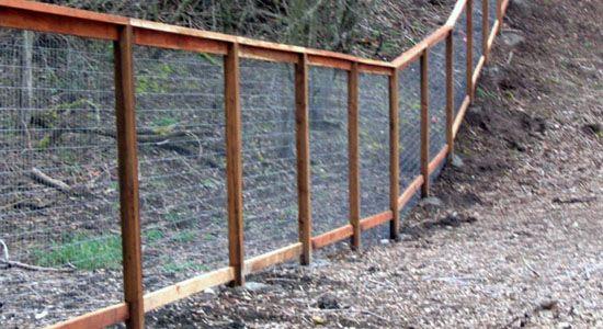 How Build Garden Gate Chicken Wire