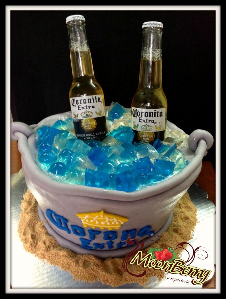 Cubeta De Cervezas Cake Pasteles Con Dise 209 Os Especiales