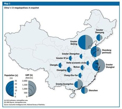 Risultati immagini per china megalopolis