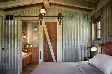 Rustic decor and repurposed element
