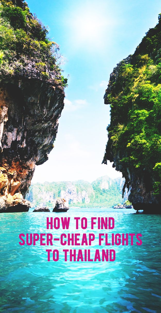 How to Find SuperCheap Flights to Thailand. travel tips