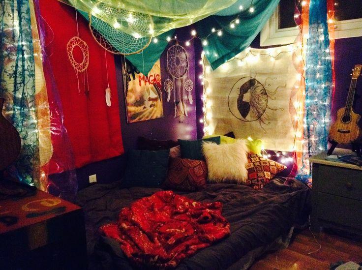 Hippie Bedrooms, Hippie Style And Bedrooms On Pinterest
