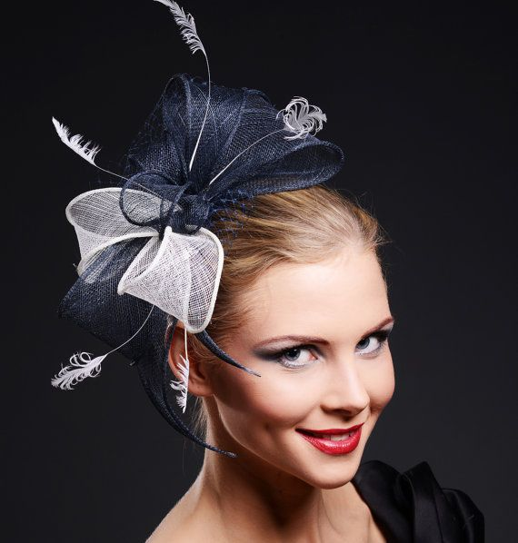 24 Best Images About Navy Amp Cream Head Piece On Pinterest
