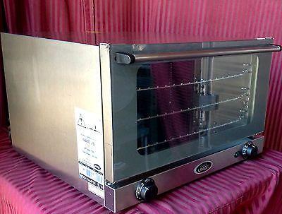 1 2 Sheet Electric Convection Oven Cadco Unox OV 350 XA015