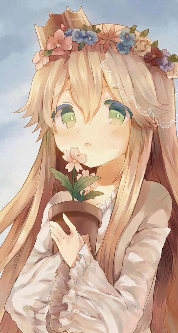 cute princess!! Anime/Manga Pinterest Plants, Potted