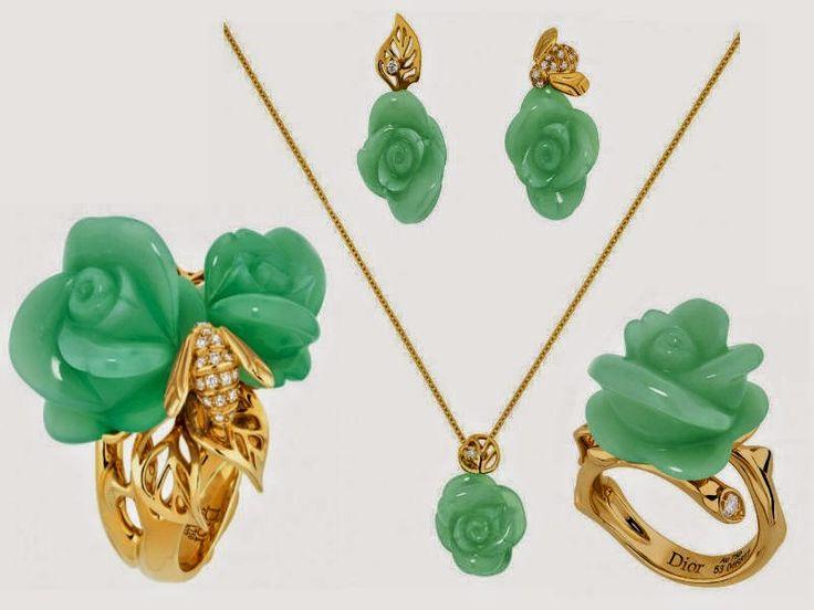 ما هي حكاية مجوهرات الوردة من كريستيان ديور ؟