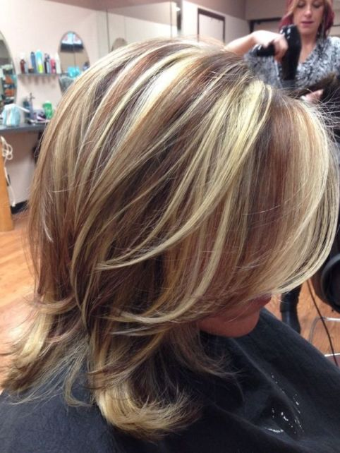 Brown Hair with Highlights and Lowlights | via kay la powell by BrittWard: