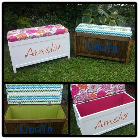 Upholstered Toy Chest DIY