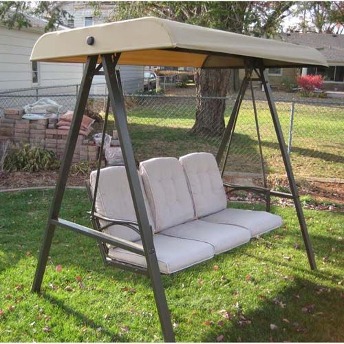 Replacement Canopy For Garden Treasures Freeport Swing