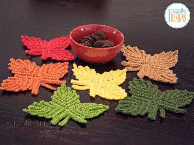Free Maple Leaf Potholder Crochet Pattern Zoshwiki