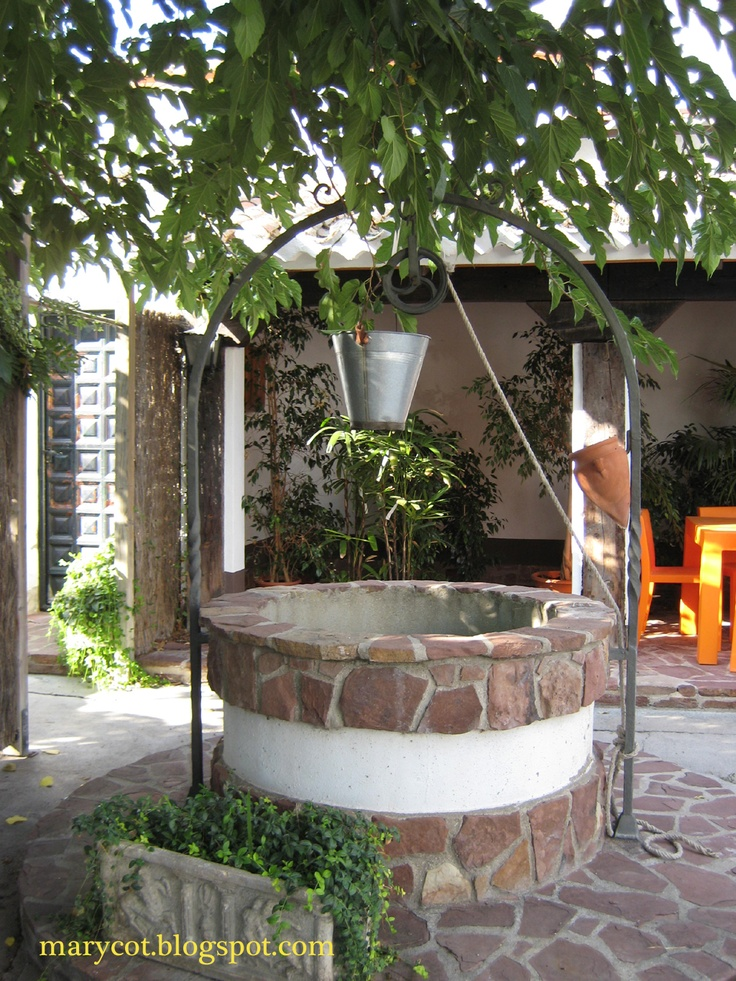 42 Best Images About Pozos On Pinterest A Well Vineyard And Patio