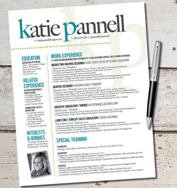 1000 ideas about marketing resume on pinterest resume templates
