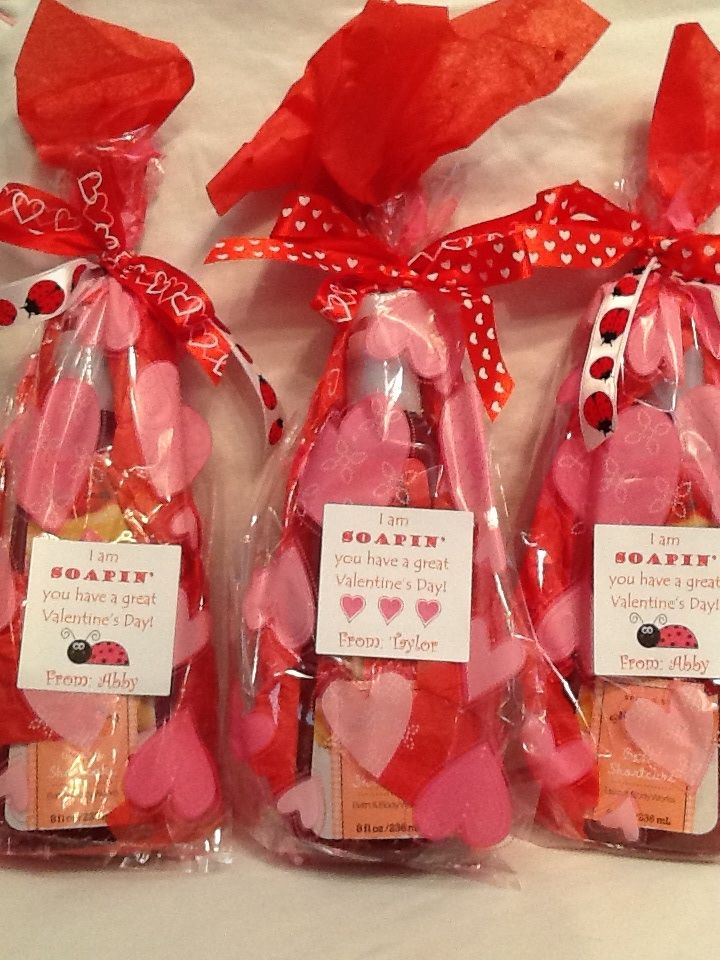 Valentine Idea For Teacher I Am Soapin You Have A Great