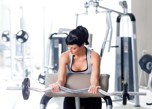 How to do a barbell curl