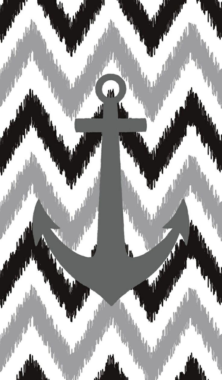 Anchor Chevron Background Computer