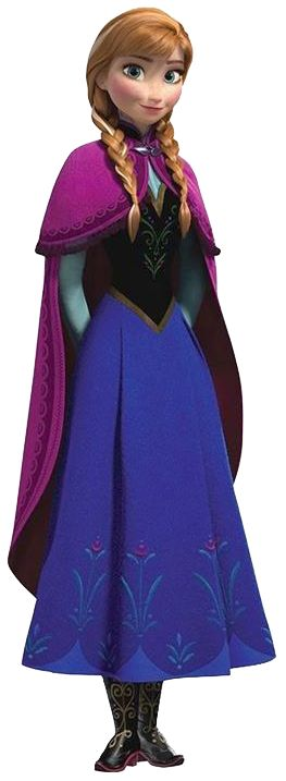 Anna / Frozen my fictional woman crush lol