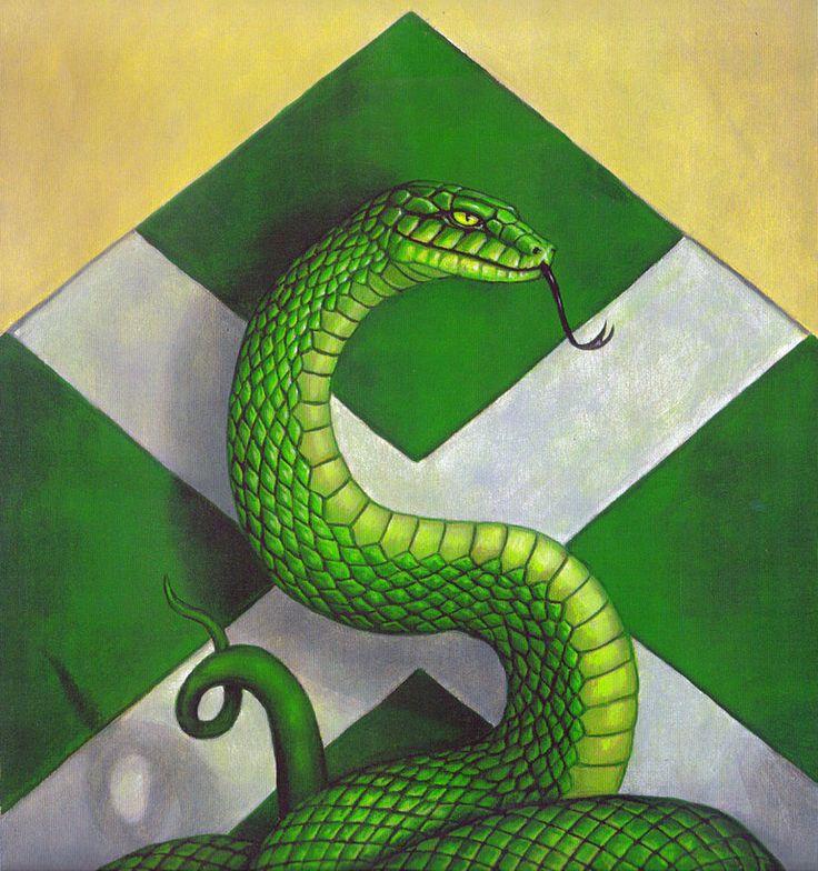 Slytherin Snake SLYTHERIN PRIDE Pinterest Ravenclaw