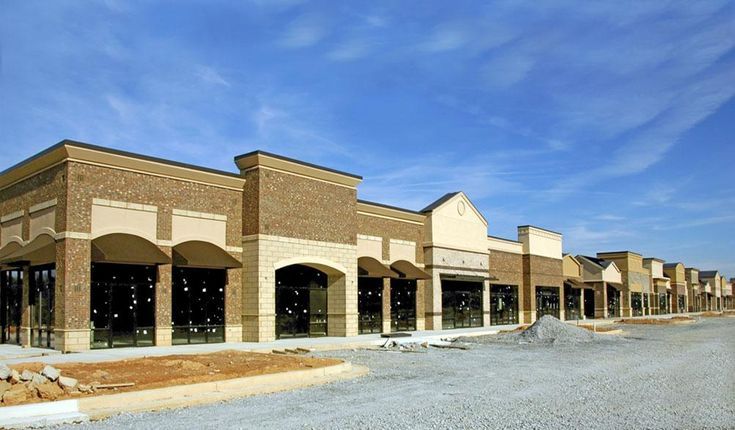 36 Best STRIP MALL FACADES Images On Pinterest