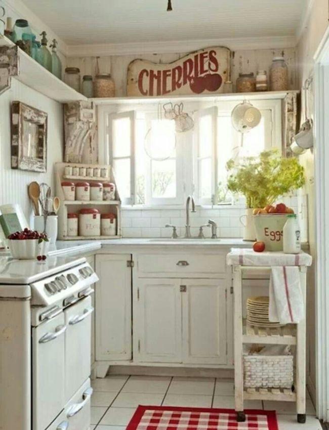 Country Kitchen #decor #vintage # rustic #retro #sunshine ...