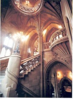 Main Old Staircase by The University of Manchester Library